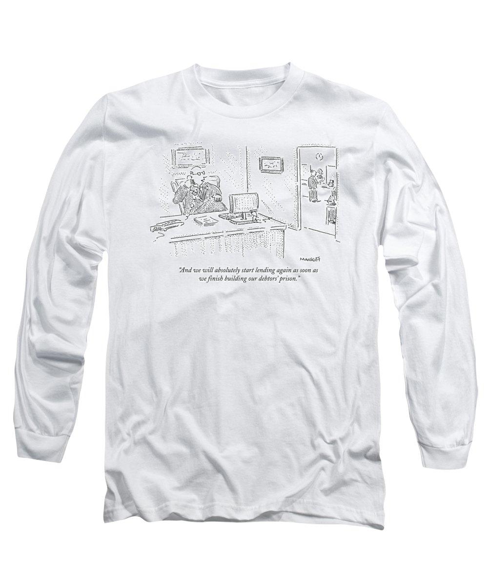 Debts Drawings Long Sleeve T-Shirts