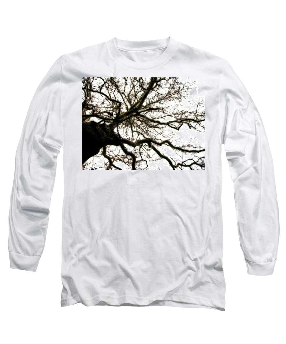 Branches Long Sleeve T-Shirt featuring the photograph Branches by Michelle Calkins