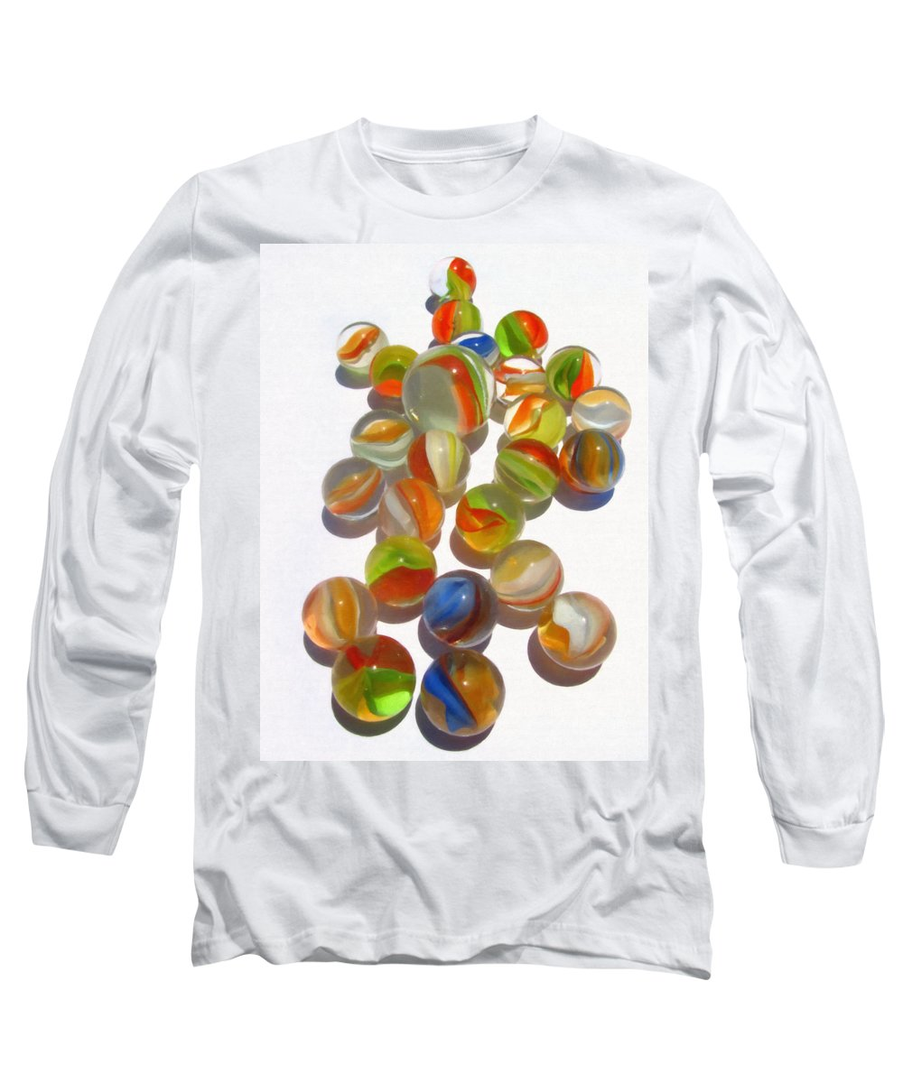 Marbles Long Sleeve T-Shirt featuring the photograph Cats Eye by Dale Jackson
