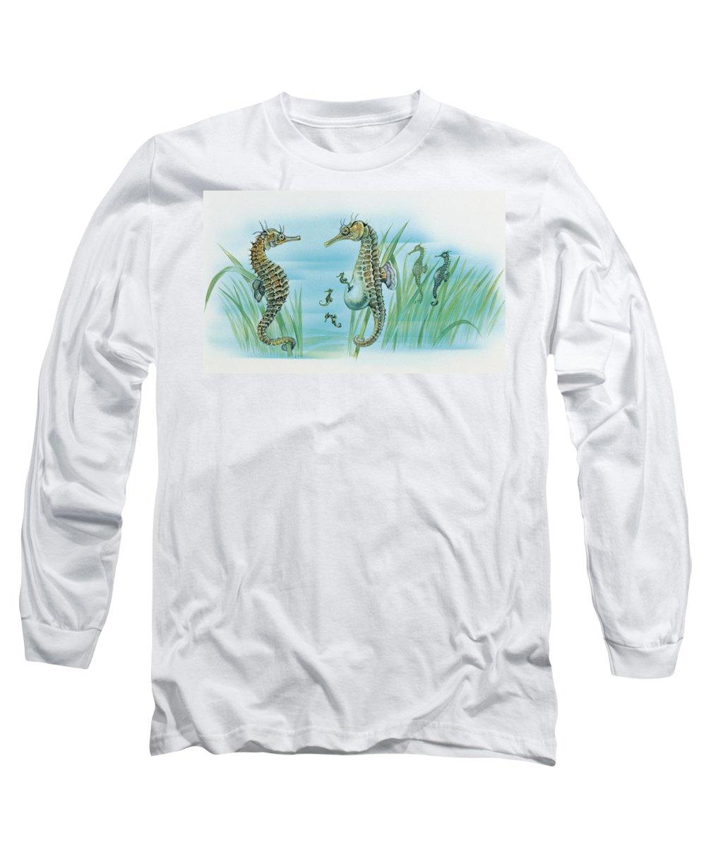 Sea Grass Long Sleeve T-Shirts