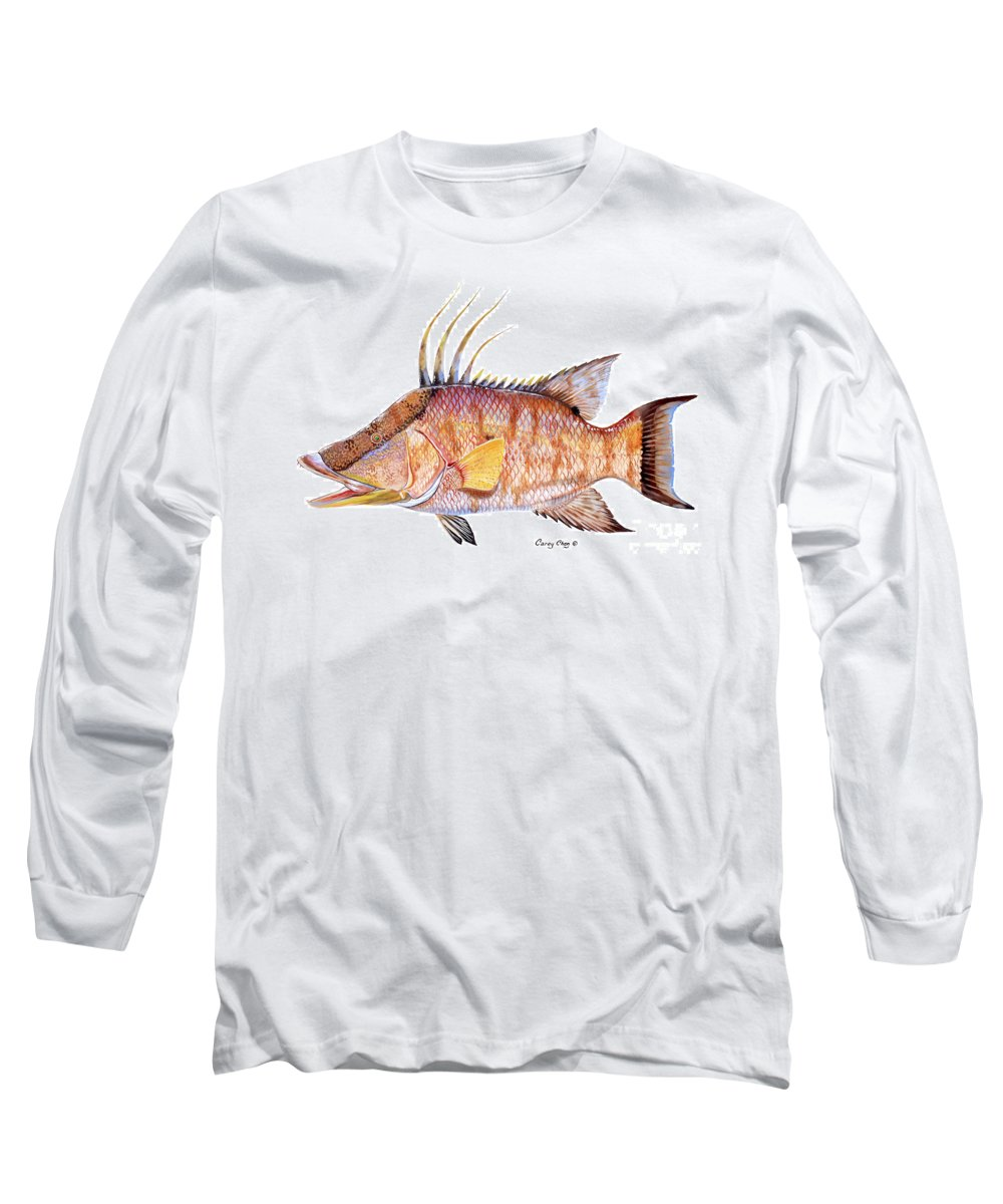 Mangrove Snapper Long Sleeve T-Shirts
