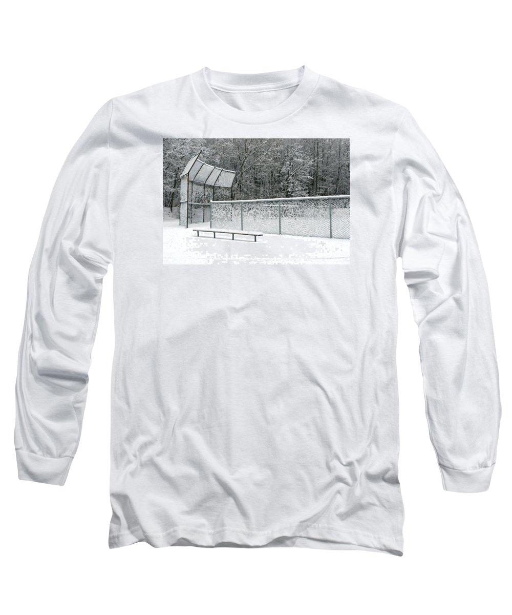 Winter Long Sleeve T-Shirt featuring the photograph Off Season by Ann Horn