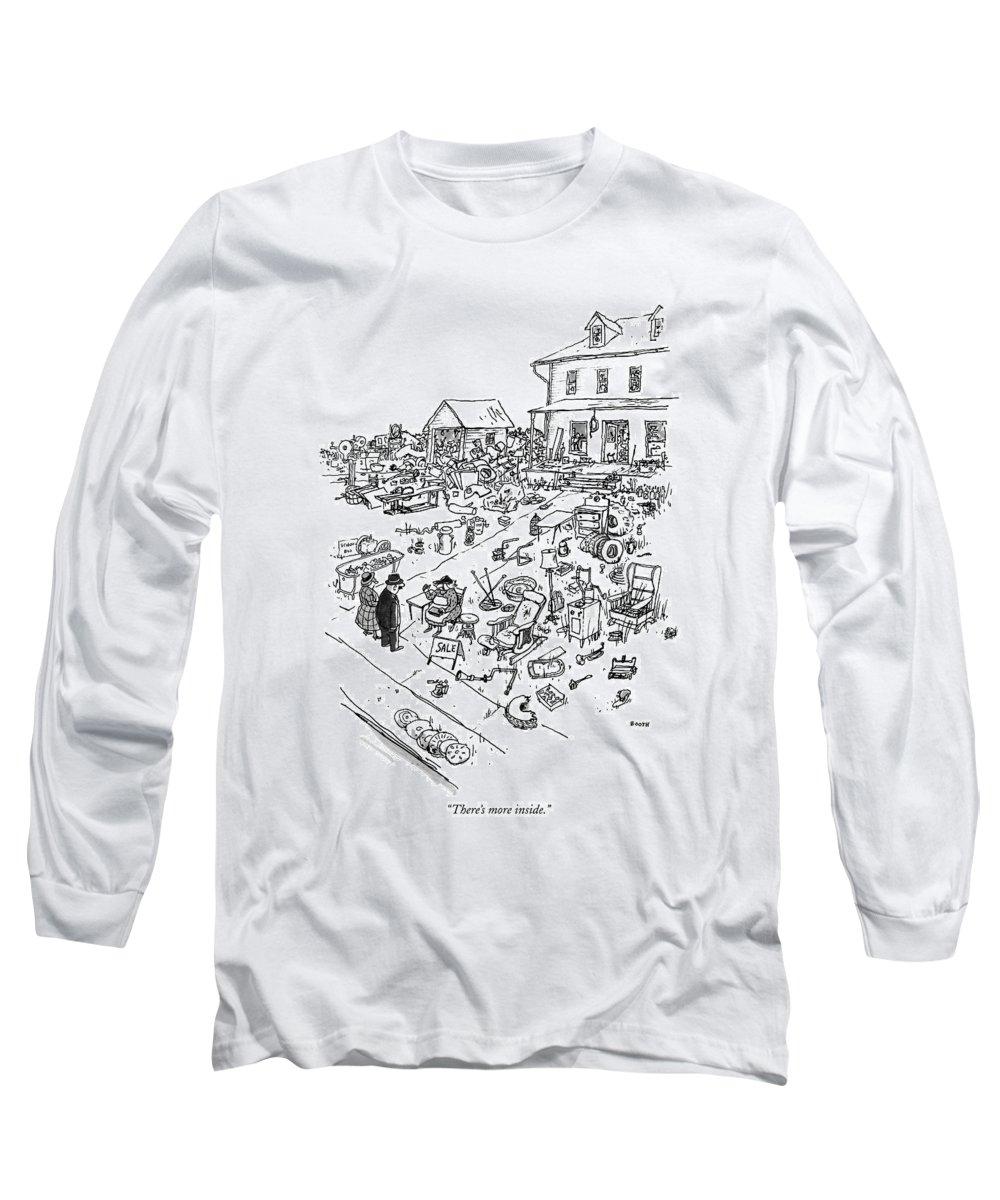 Front Yard Drawings Long Sleeve T-Shirts
