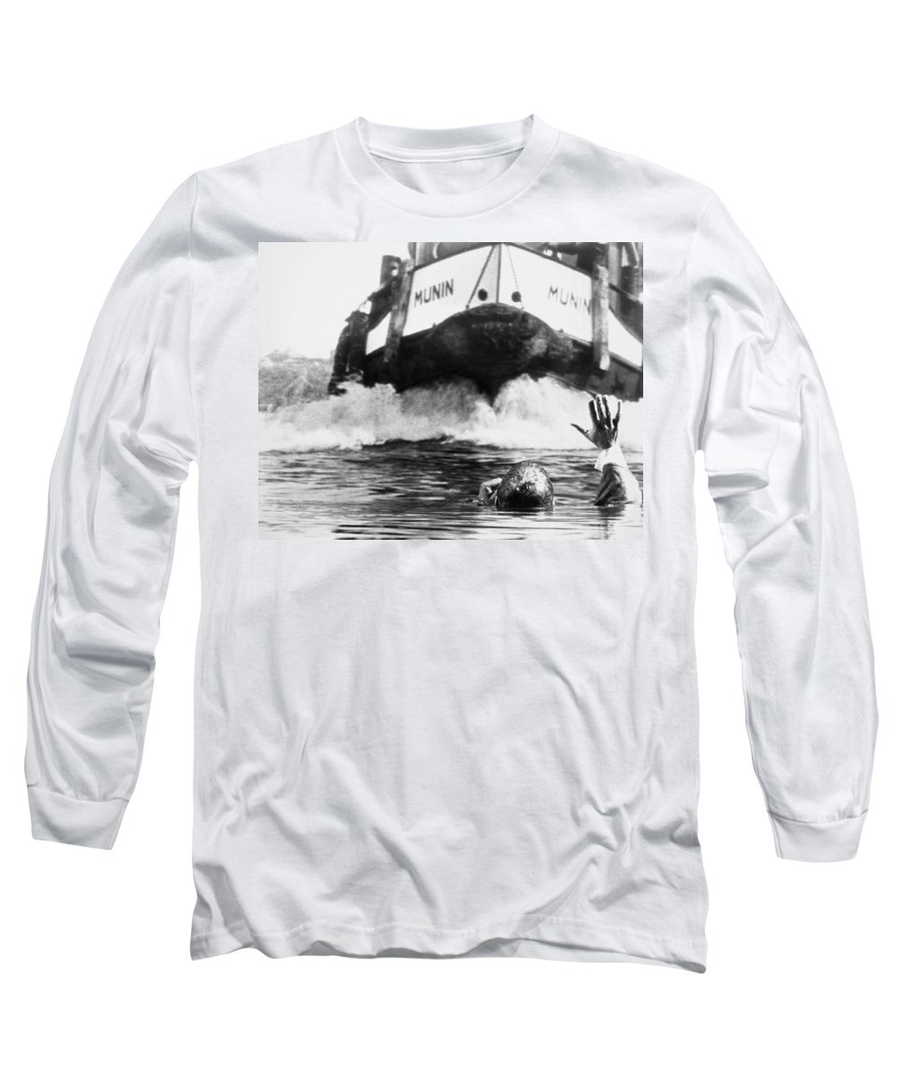 1963 Long Sleeve T-Shirt featuring the photograph Film: The Prize, 1963 by Granger