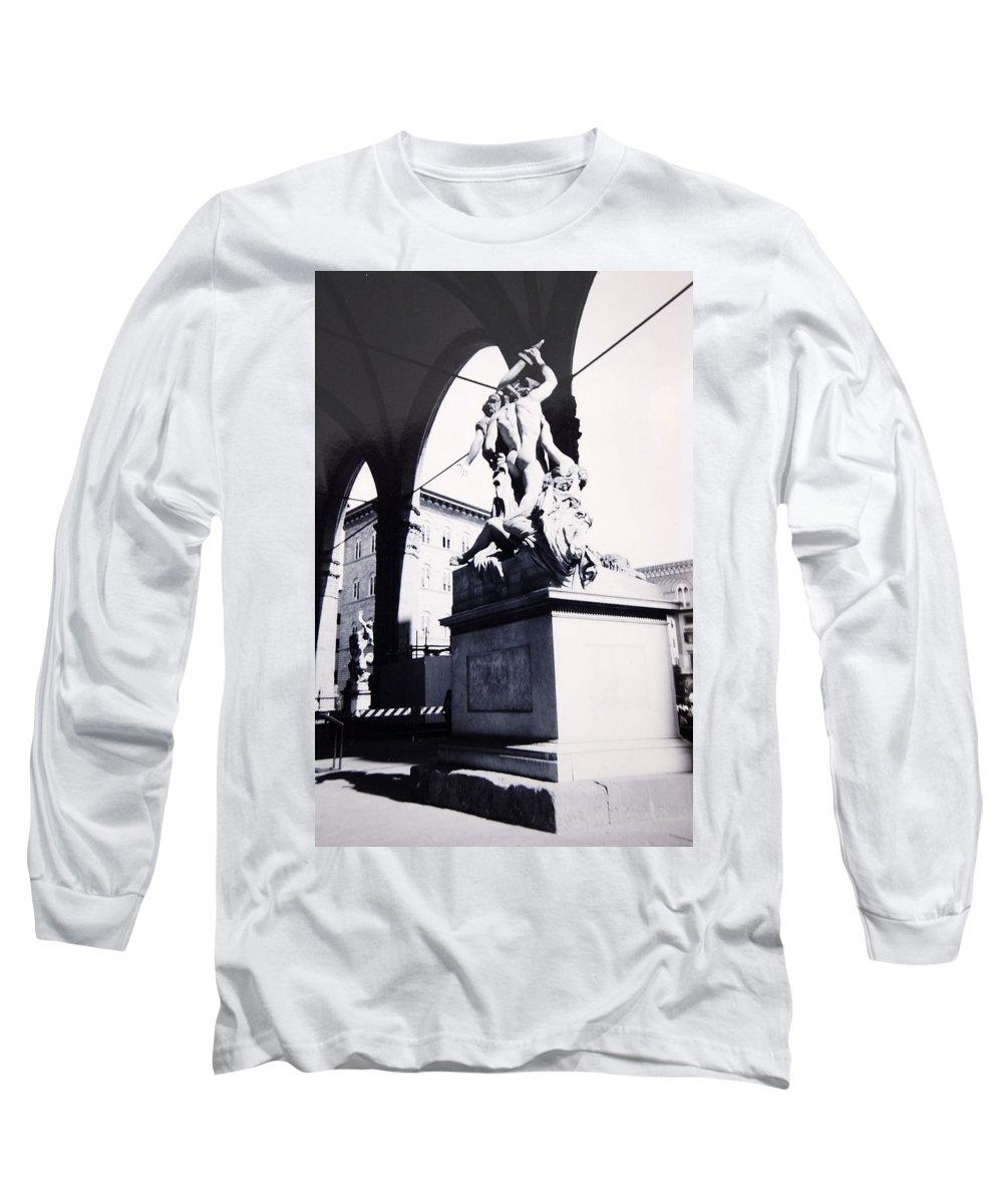 Firenze Long Sleeve T-Shirt featuring the photograph Florence by Kurt Hausmann