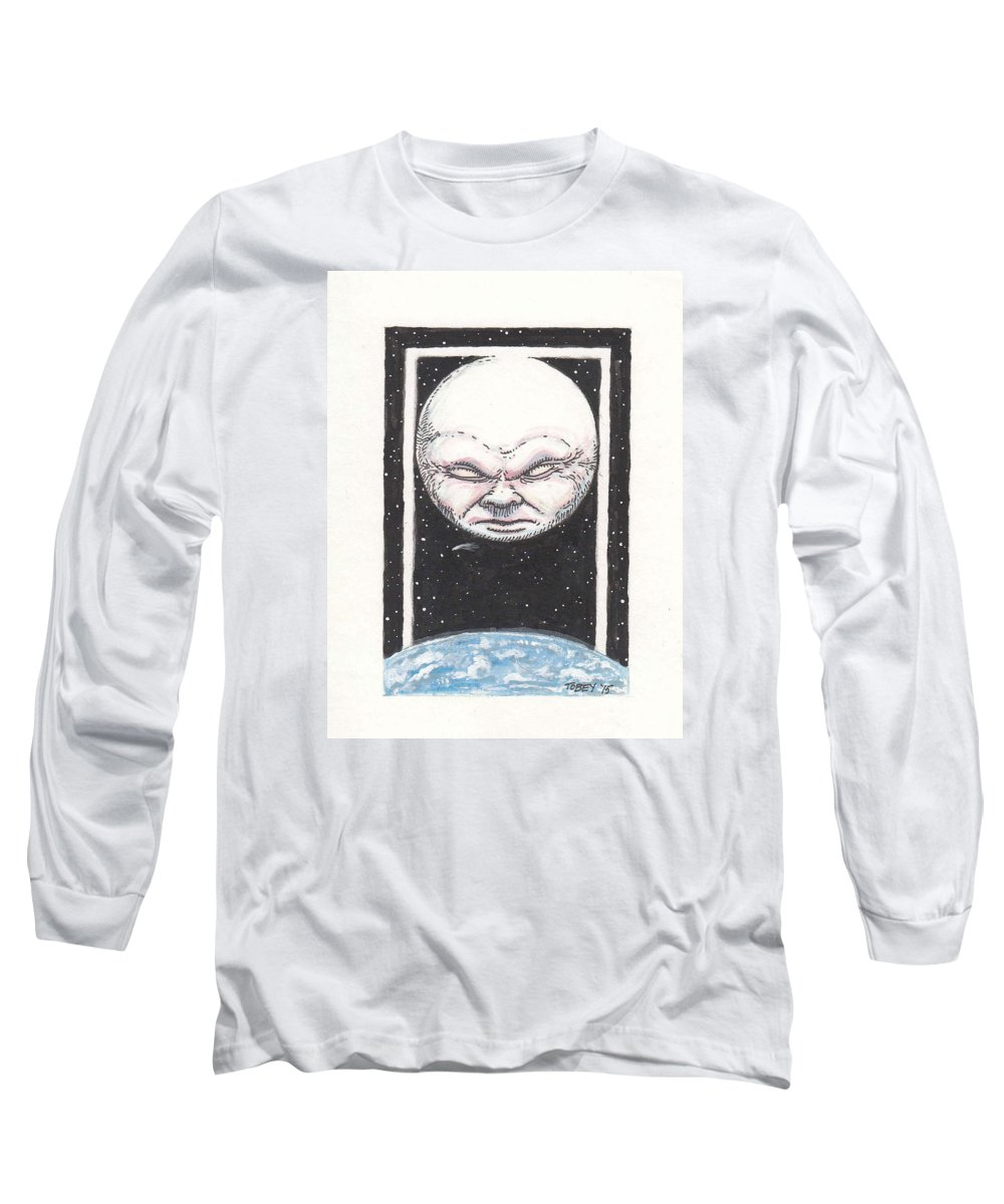 Furniture Long Sleeve T-Shirt featuring the drawing Untitled by Tobey Anderson