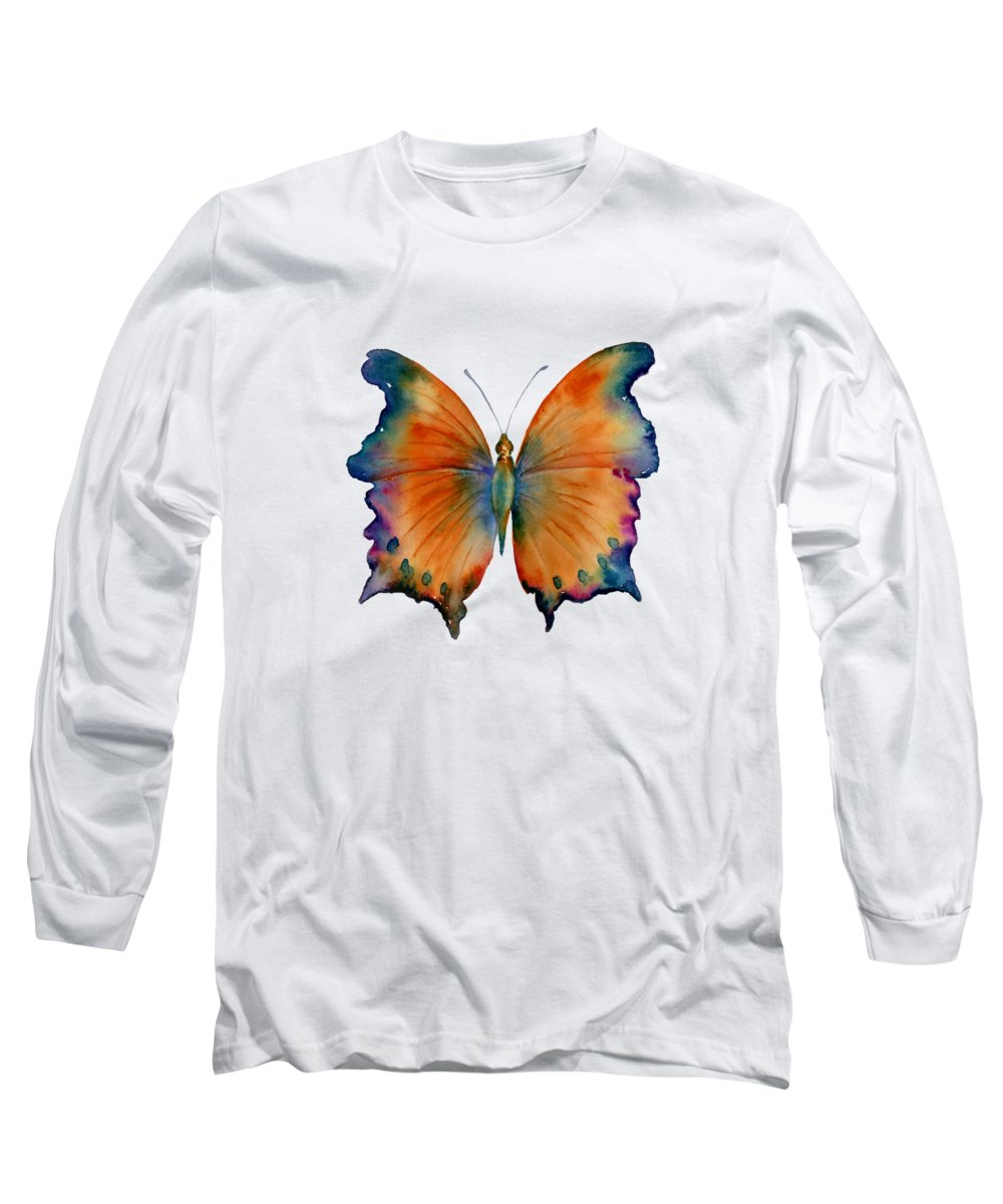 Butterfly Wings Long Sleeve T-Shirts