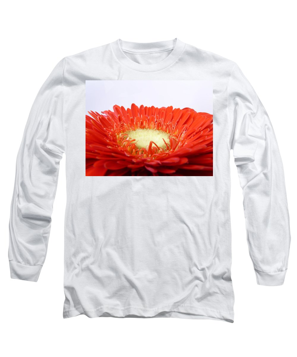 Gerbera Long Sleeve T-Shirt featuring the photograph Gerbera by Daniel Csoka