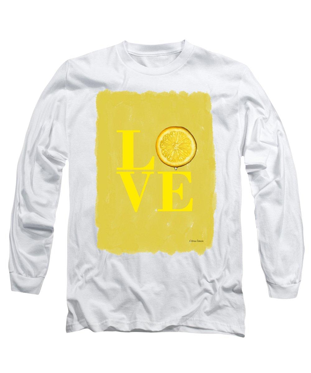 Lemon Long Sleeve T-Shirts