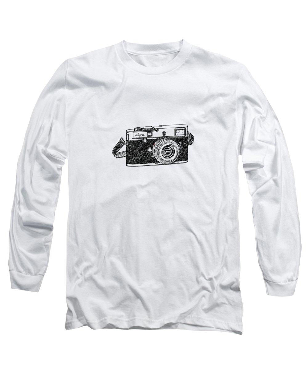 Vintage Camera Long Sleeve T-Shirts