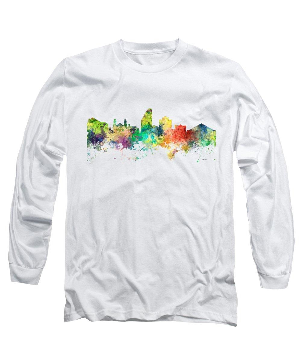 San Jose Digital Art Long Sleeve T-Shirts