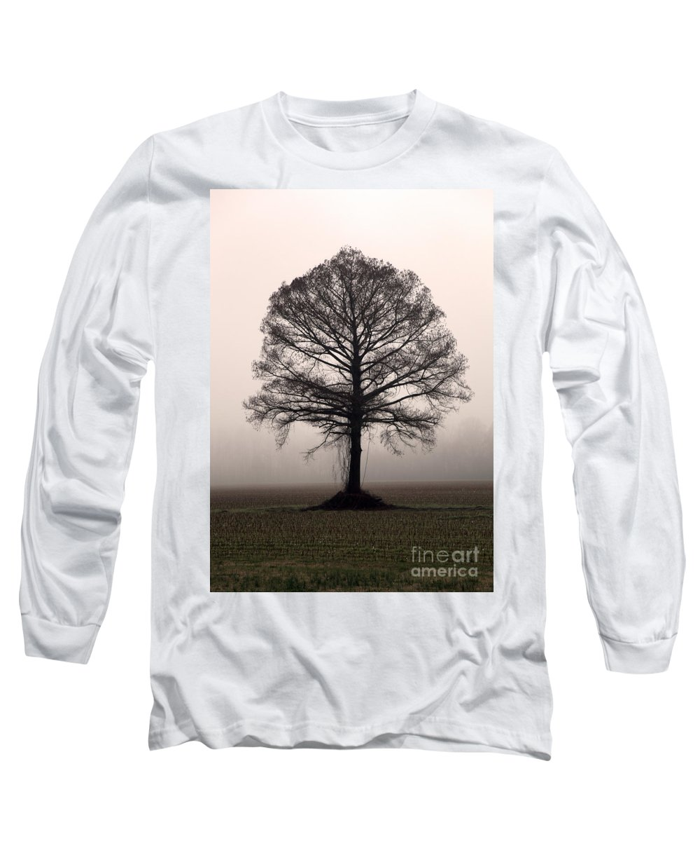Trees Long Sleeve T-Shirt featuring the photograph The Tree by Amanda Barcon
