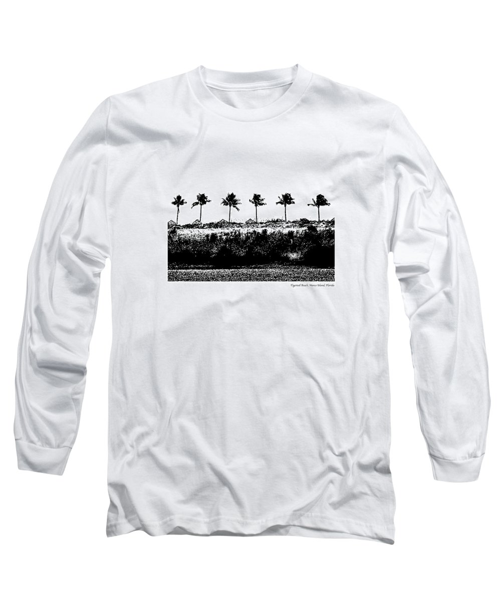 Beach Long Sleeve T-Shirt featuring the photograph Tiger Tail Beach by Laurie Paci