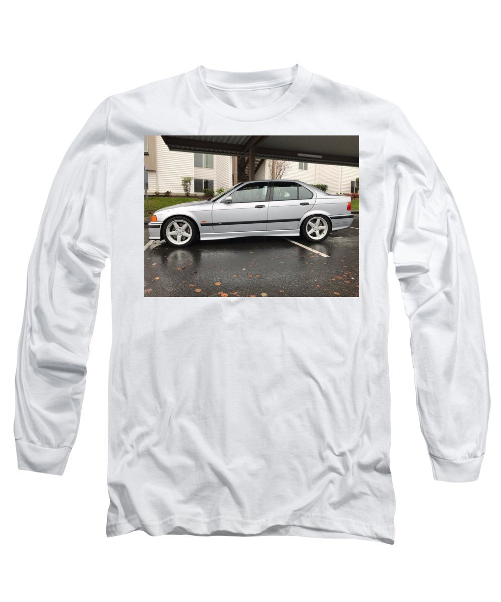 Bmw M3 Long Sleeve T-Shirt featuring the photograph Bmw M3 by Jackie Russo