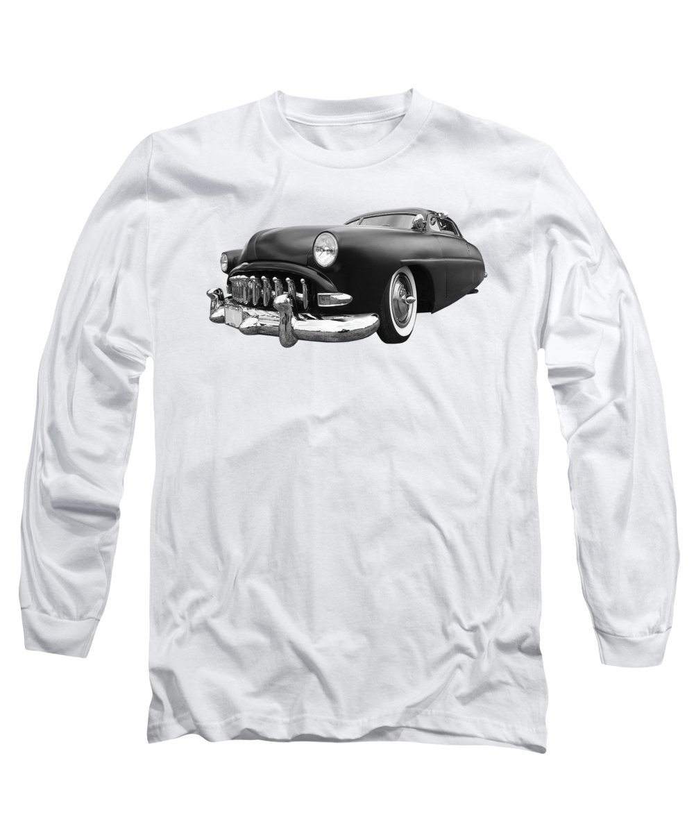 Hotrod Long Sleeve T-Shirt featuring the photograph 52 Hudson Pacemaker Coupe by Gill Billington