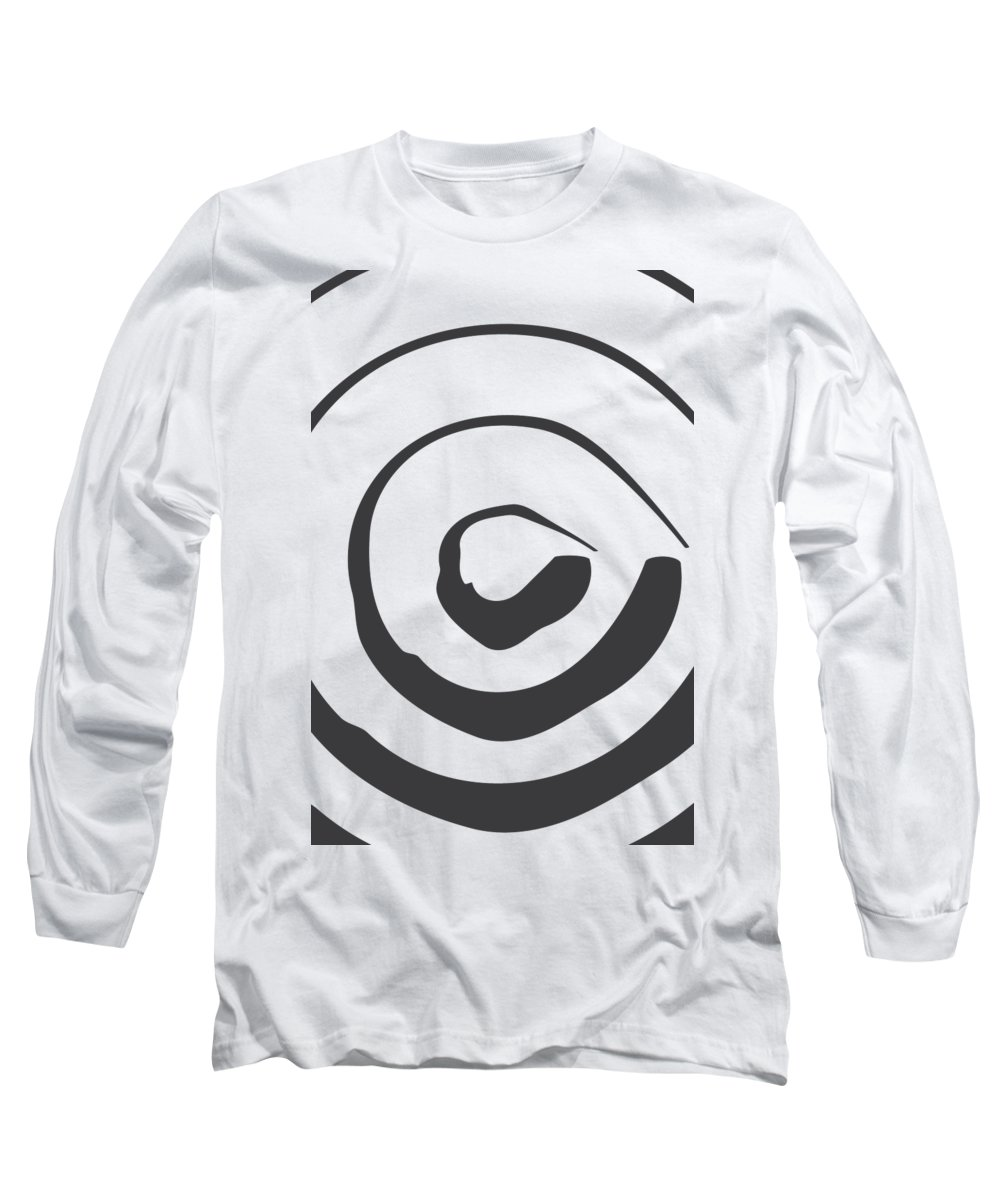 Brushstrokes Long Sleeve T-Shirts