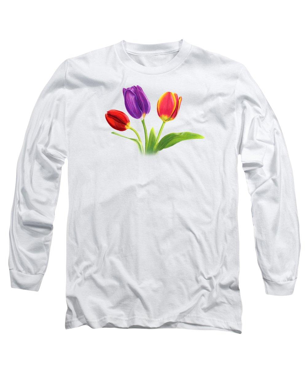 Horizontal Long Sleeve T-Shirts
