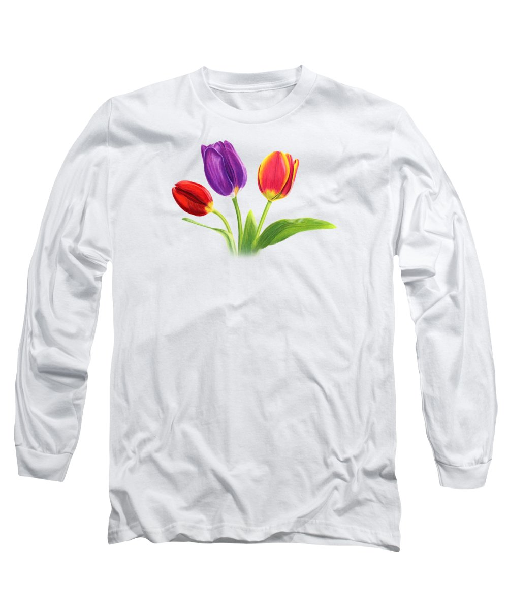Tulips Long Sleeve T-Shirts