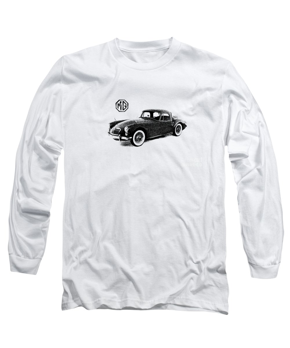 Car Long Sleeve T-Shirt featuring the photograph Mga 1959 by Mark Rogan