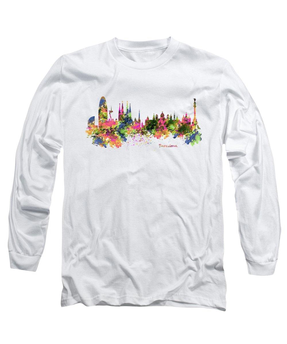 Barcelona Long Sleeve T-Shirts