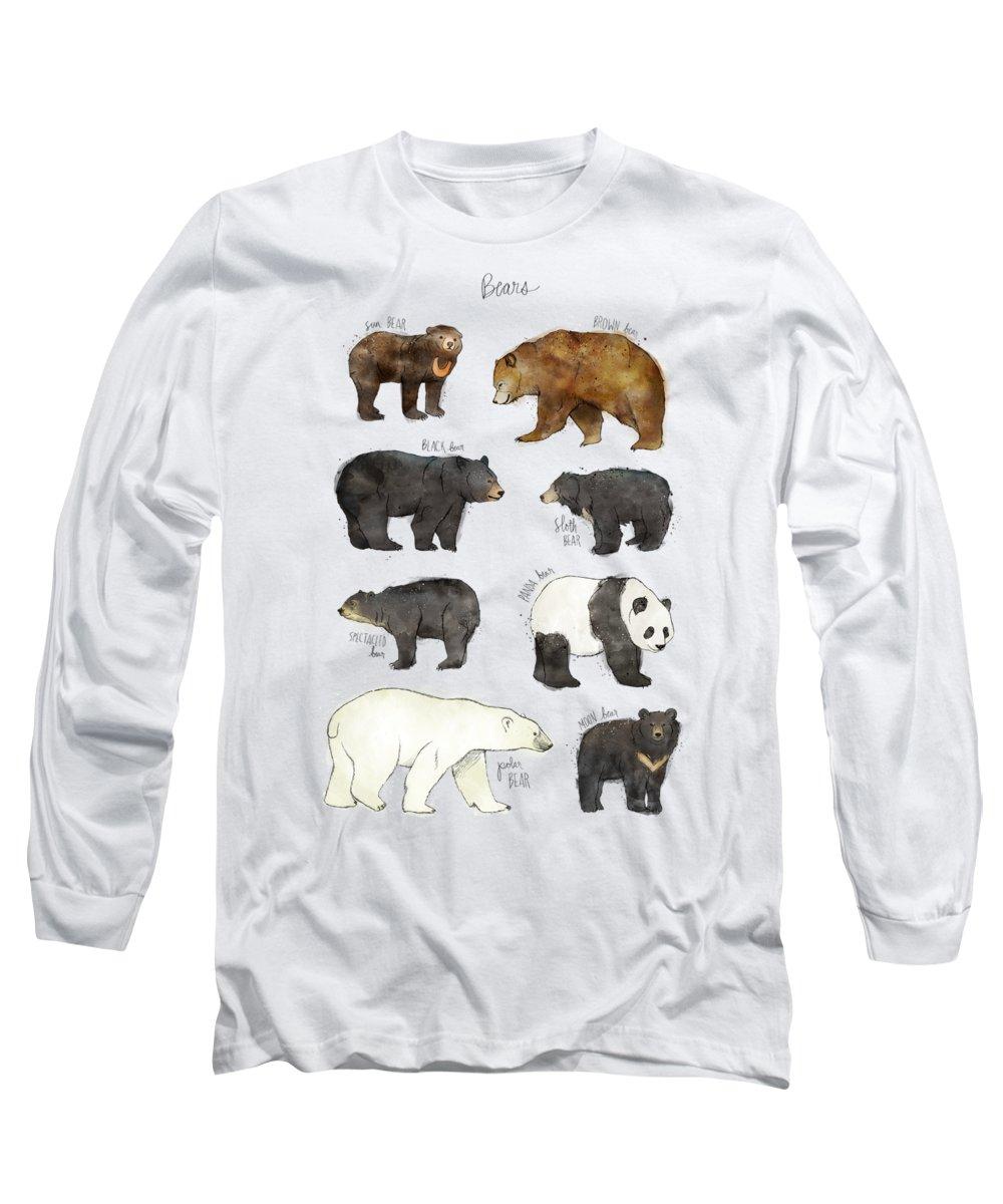 Woodland Animals Long Sleeve T-Shirts