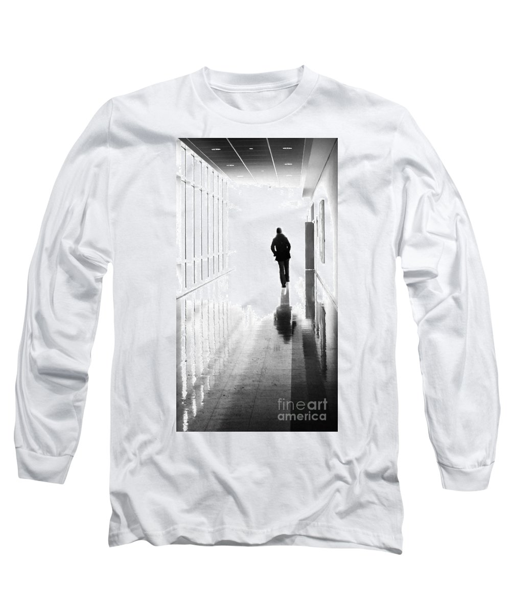 Dipasquale Long Sleeve T-Shirt featuring the photograph Being Alone Doesnt Mean Youre Free by Dana DiPasquale
