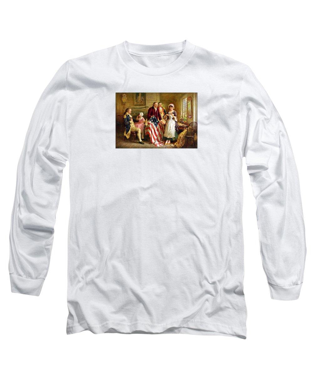 George Washington Long Sleeve T-Shirts