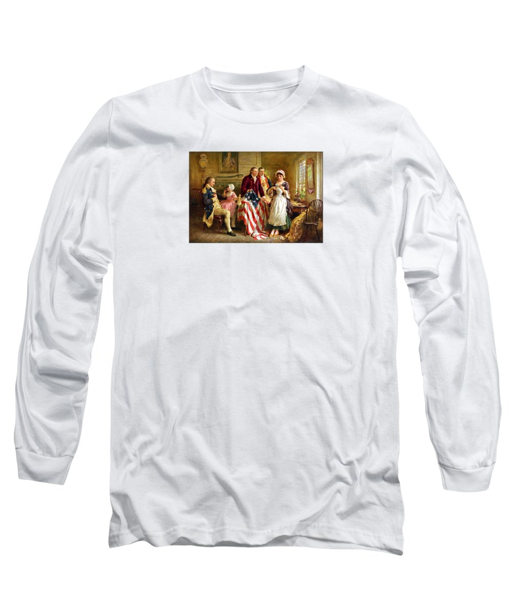 George Washington Long Sleeve T-Shirts