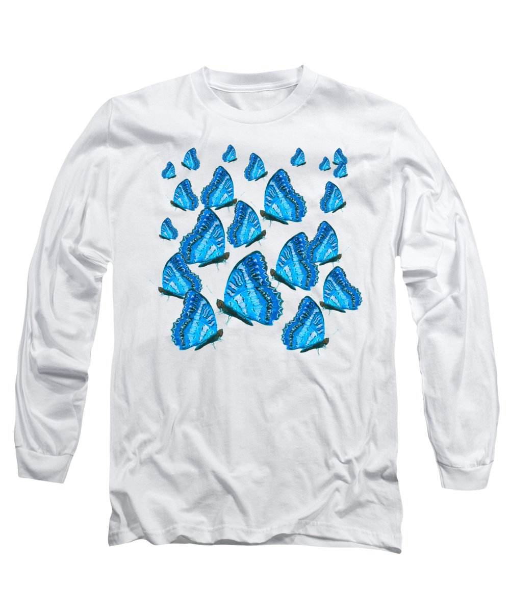 Iridescent Paintings Long Sleeve T-Shirts