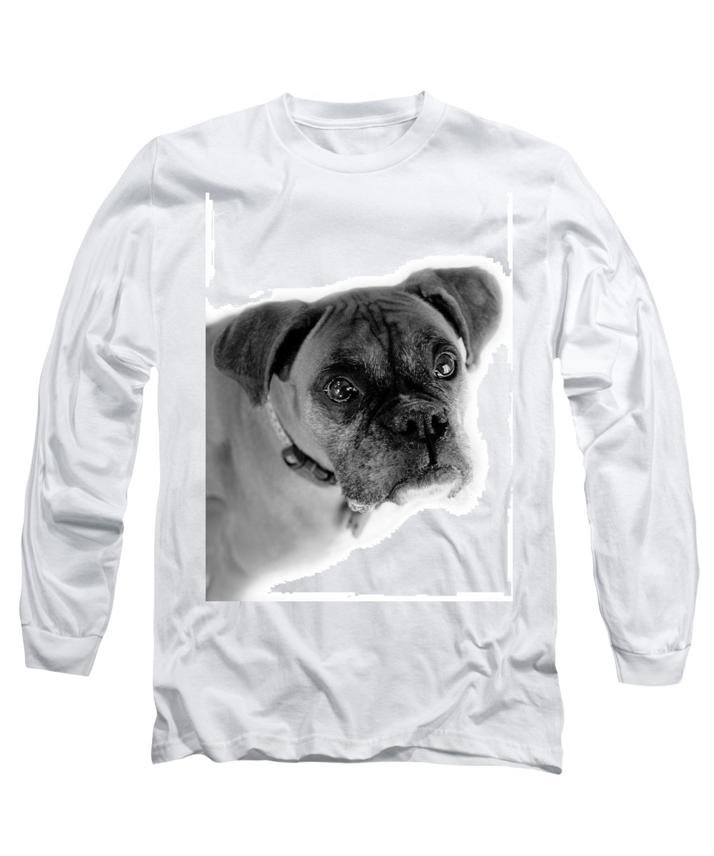 Boxer Long Sleeve T-Shirt featuring the photograph Boxer Dog by Marilyn Hunt