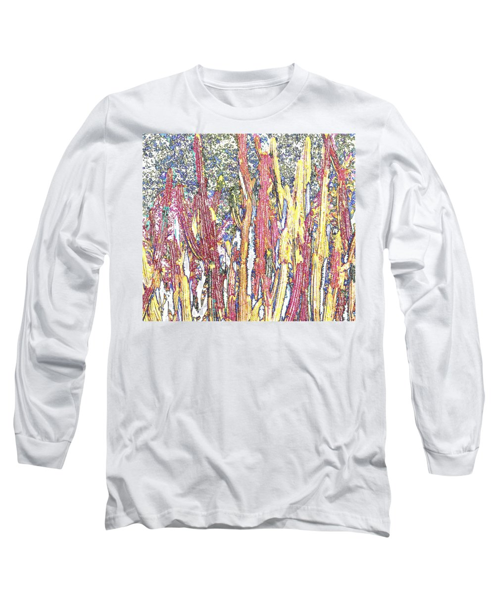 Forest Long Sleeve T-Shirt featuring the photograph Brimstone Forest by Ian MacDonald