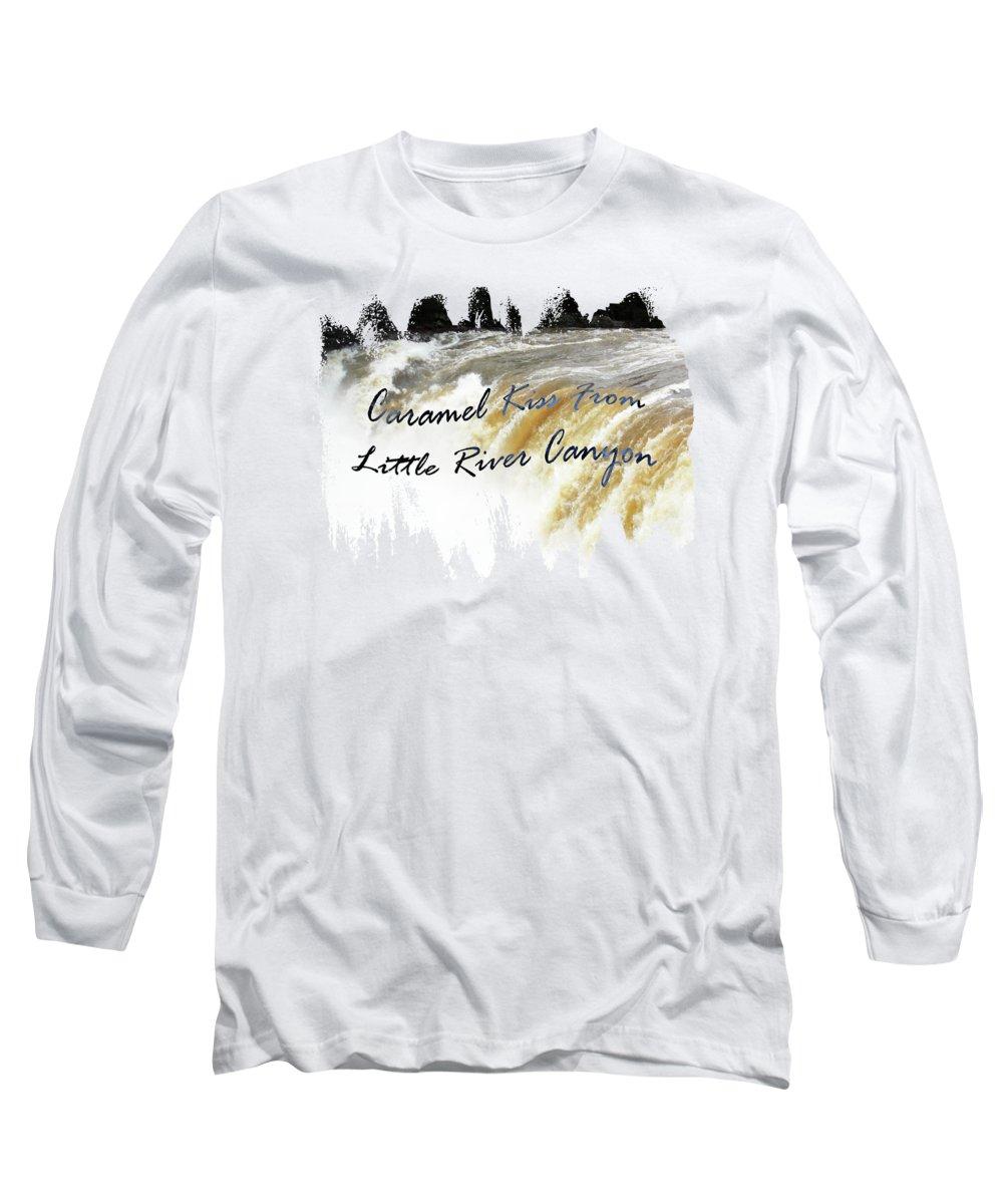 Caramel Kiss Long Sleeve T-Shirt featuring the photograph Caramel Kiss by Anita Faye