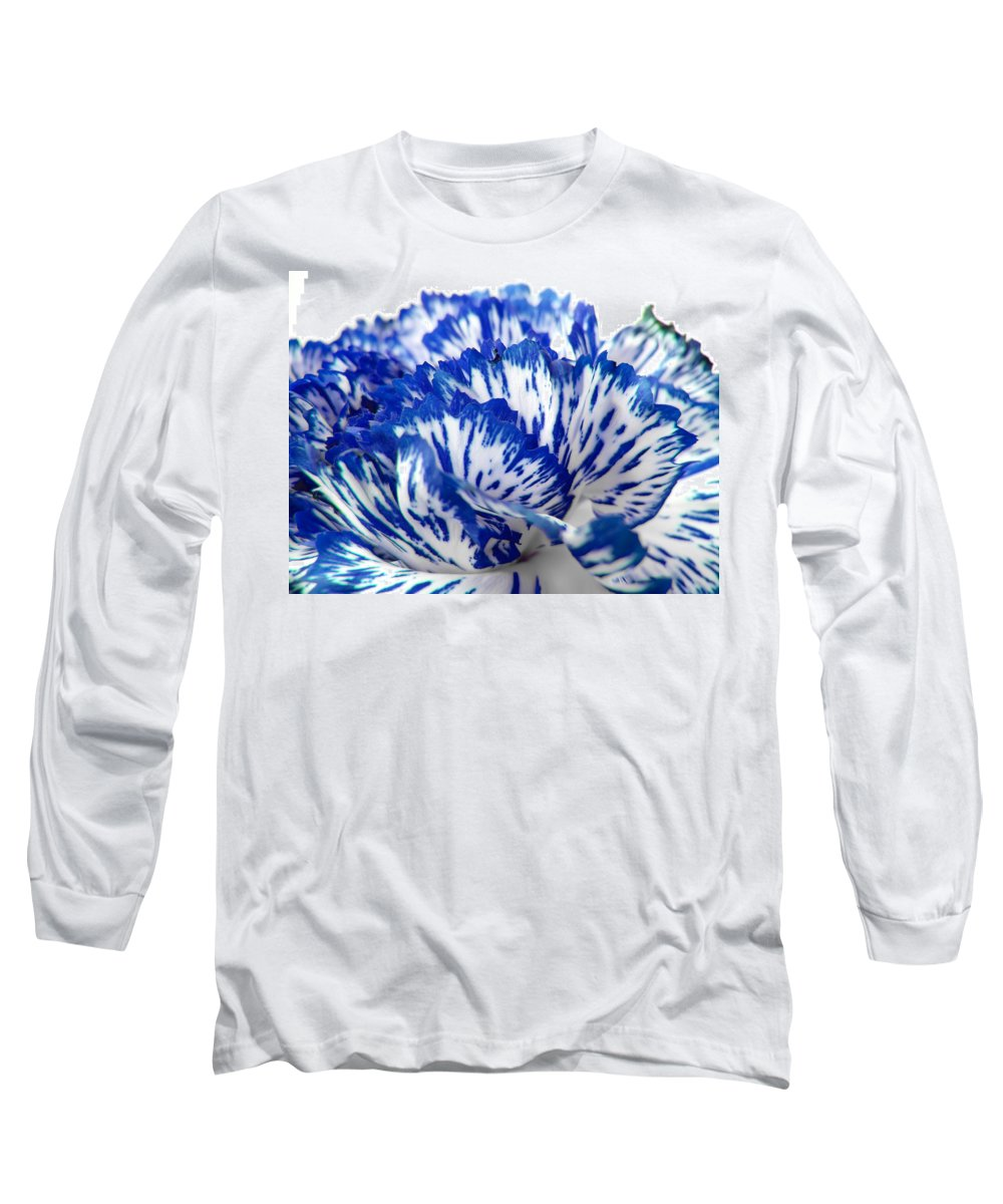 Carnation Long Sleeve T-Shirt featuring the photograph Carnation by Daniel Csoka