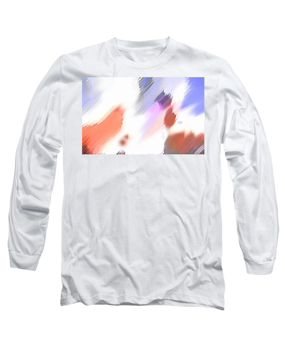 Digital Art Water Color Watercolor Light Color Long Sleeve T-Shirt featuring the painting Celebration by Anil Nene
