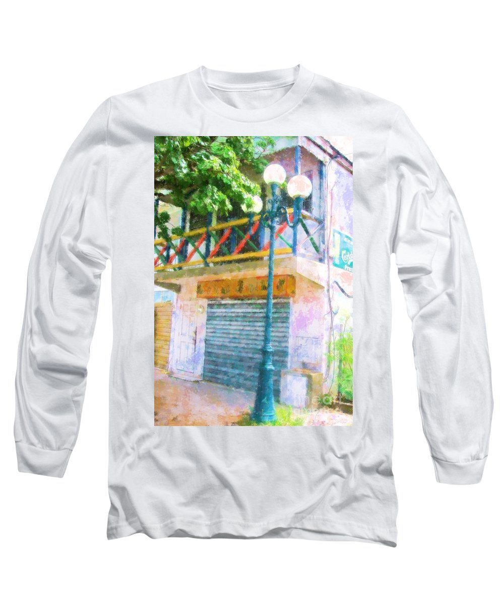 St. Martin Long Sleeve T-Shirt featuring the photograph Cest La Vie by Debbi Granruth
