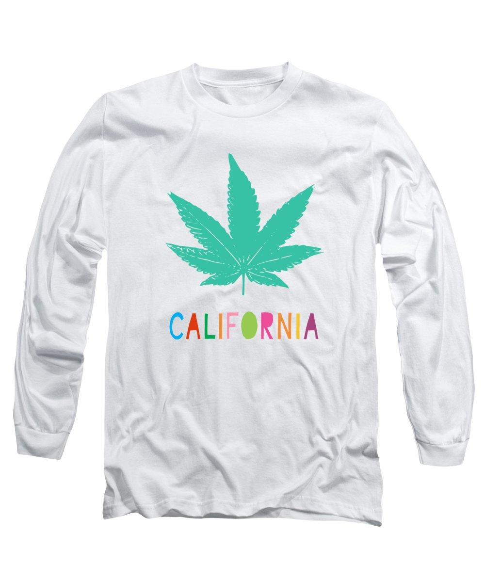 California Long Sleeve T-Shirts