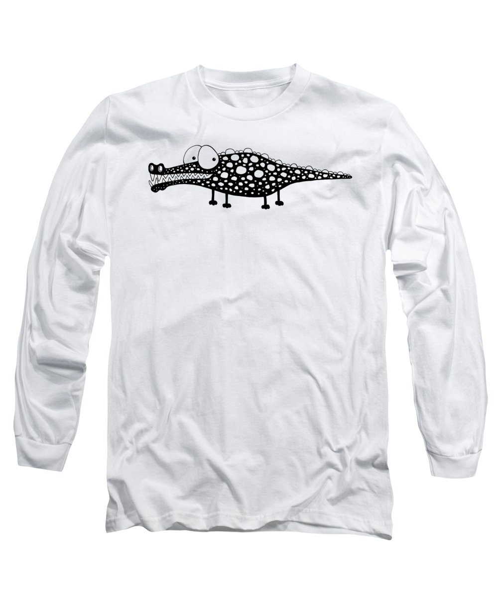 Crocodile Long Sleeve T-Shirts