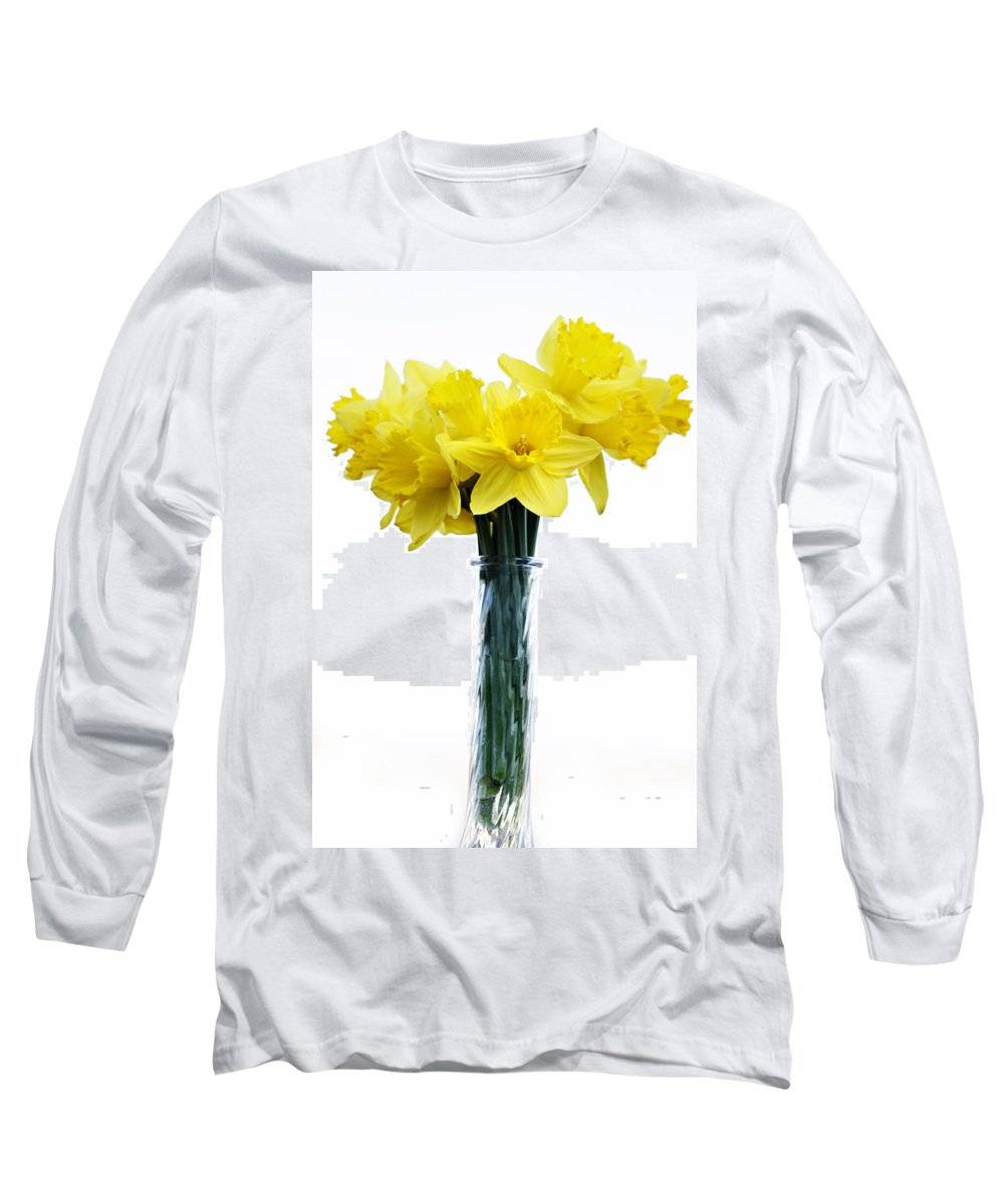 Daffodil Long Sleeve T-Shirt featuring the photograph Daffodil by Marilyn Hunt