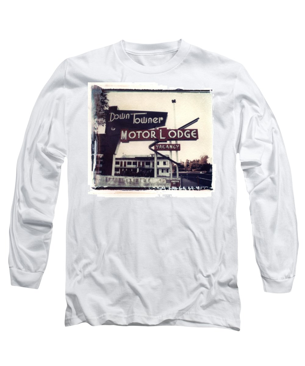 Landscape Long Sleeve T-Shirt featuring the photograph Down Towner by Jane Linders