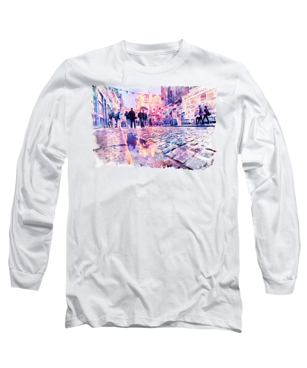 Temple Long Sleeve T-Shirts