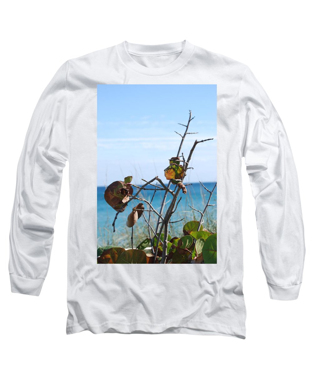 Ocean Long Sleeve T-Shirt featuring the photograph Dune Plants by Rob Hans