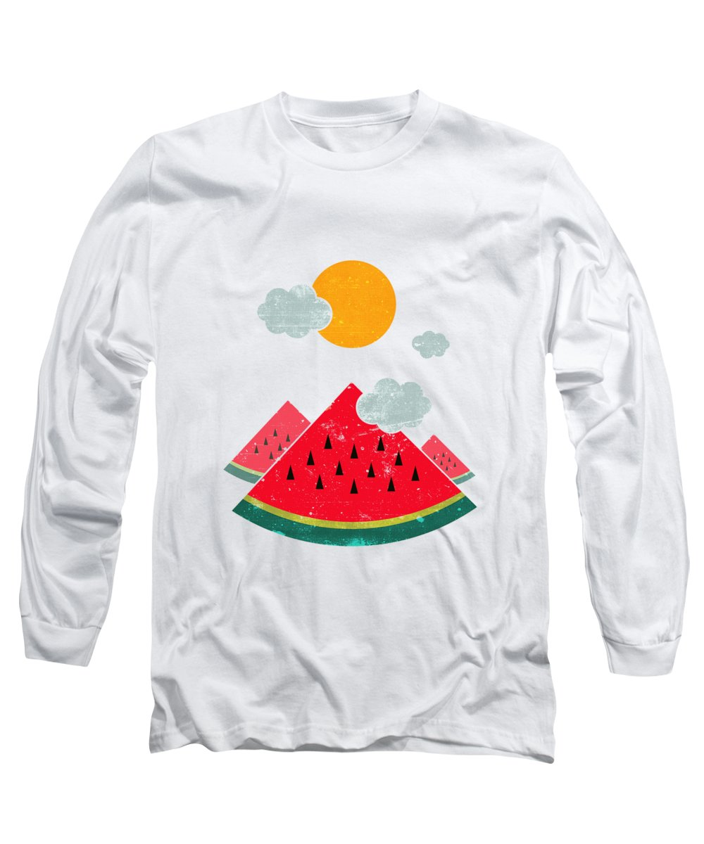 Watermelon Long Sleeve T-Shirts