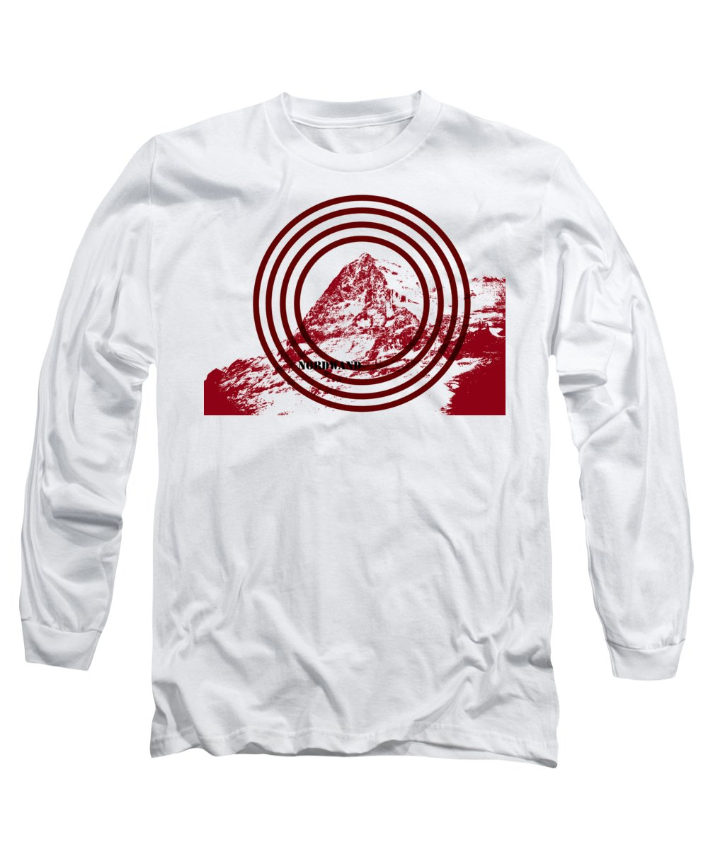 Rocky mountains long sleeve t shirts pixels for Mountain long sleeve t shirts