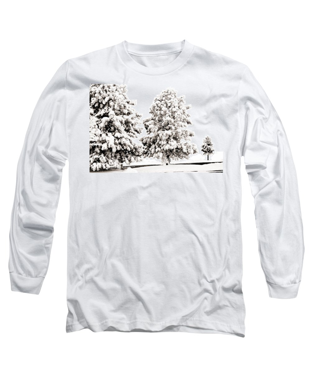 Trees Long Sleeve T-Shirt featuring the photograph Family Of Trees by Marilyn Hunt