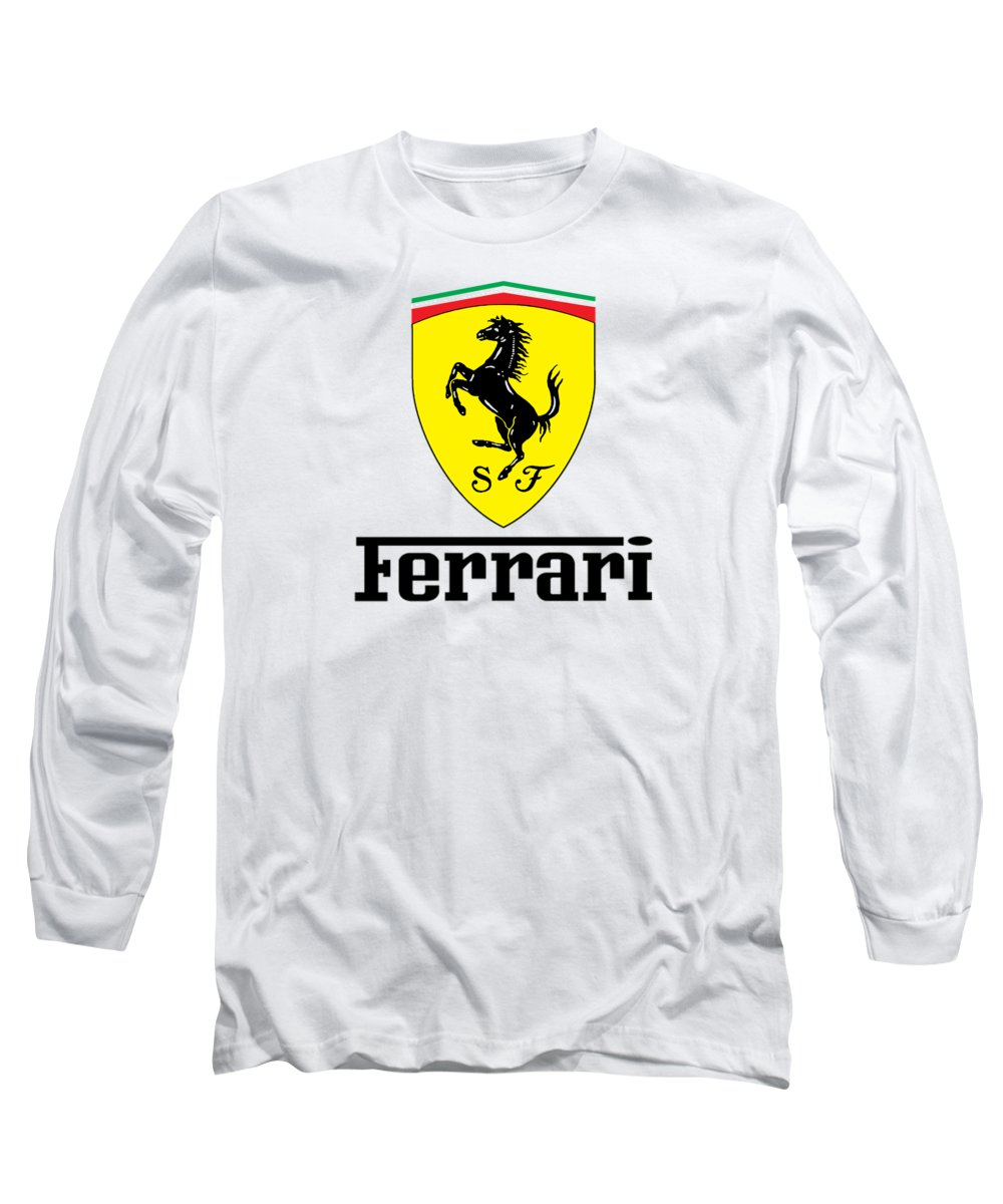 Ferrari Long Sleeve T Shirt For Sale By Ocean Soono