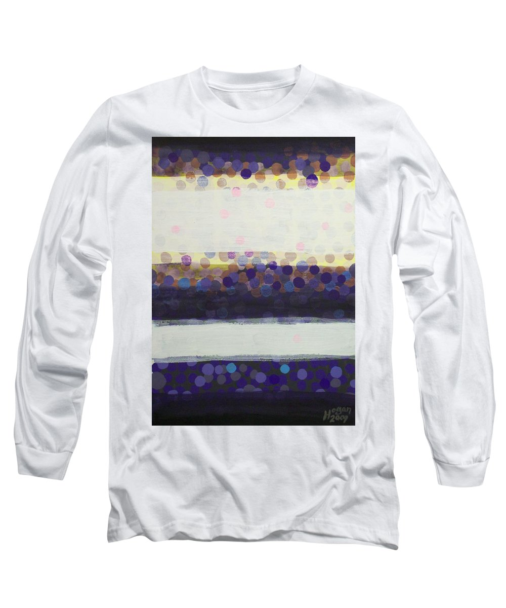 Final Moments Long Sleeve T-Shirt featuring the painting Final Moments by Alan Hogan