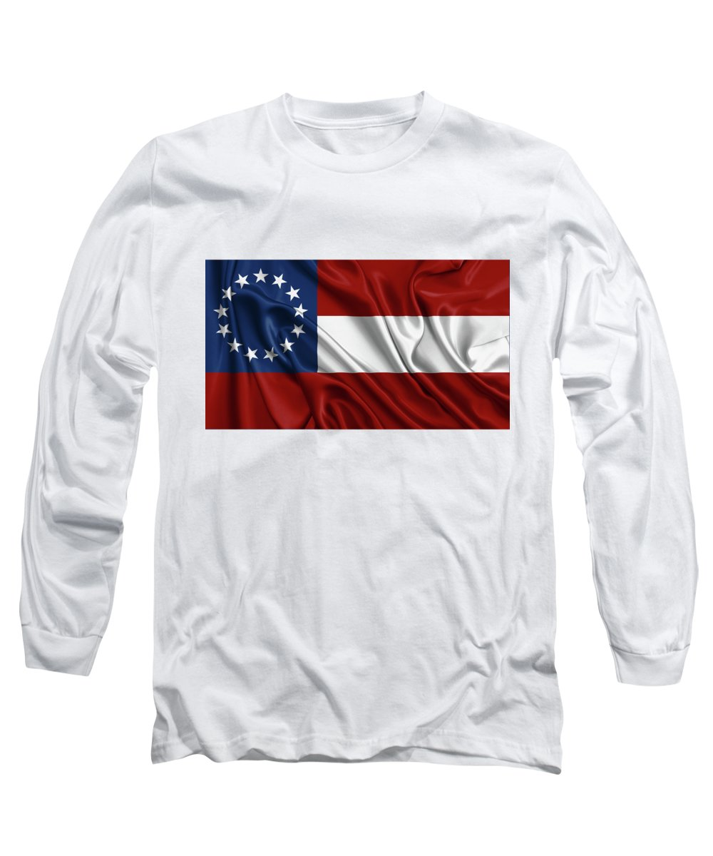 Confederate Flag Long Sleeve T-Shirts