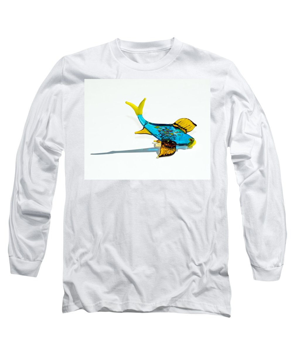 Tropic Long Sleeve T-Shirt featuring the photograph Fish Out Of Water by Allan Hughes