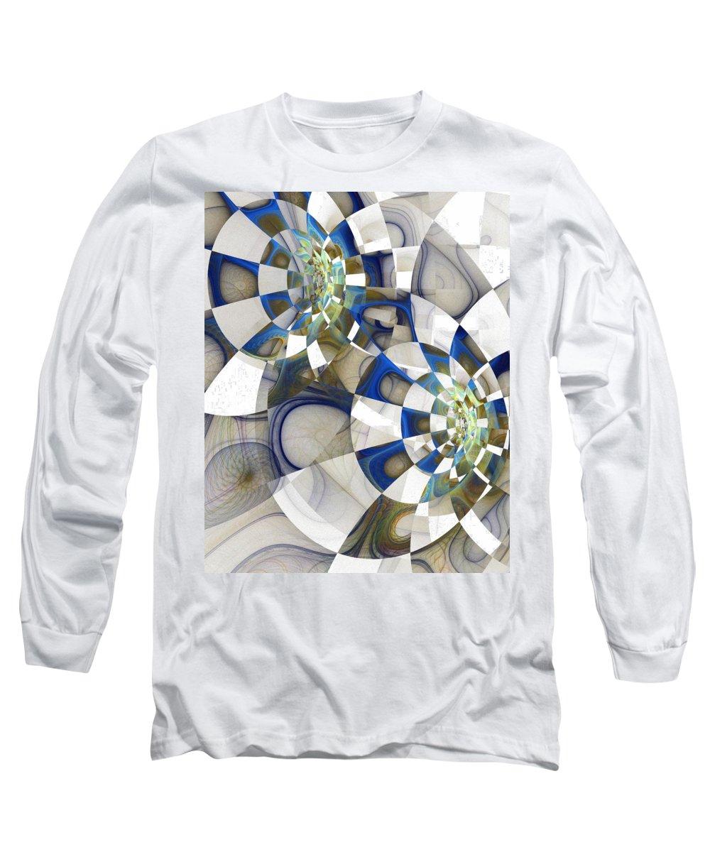 Digital Art Long Sleeve T-Shirt featuring the digital art Flight by Amanda Moore