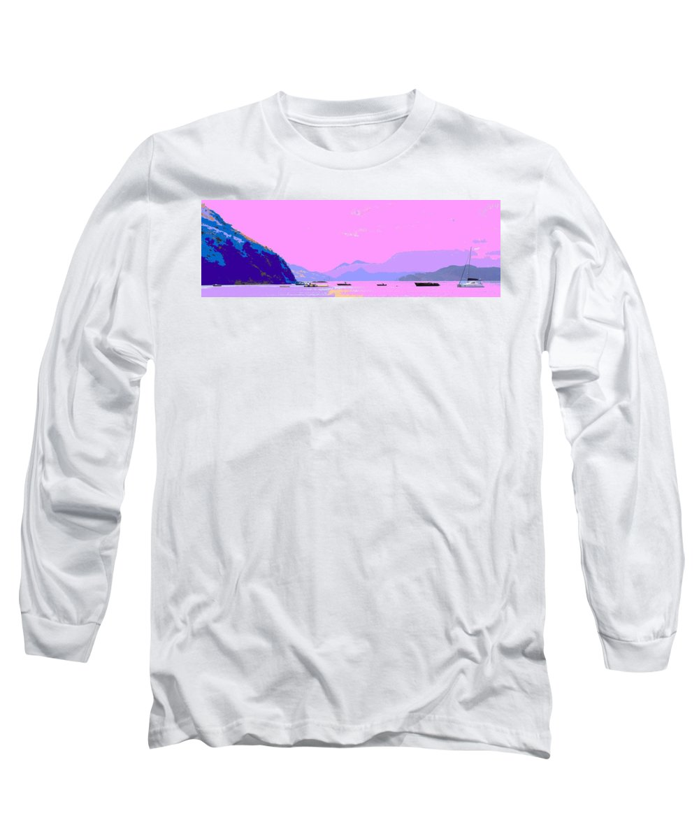Frigate Long Sleeve T-Shirt featuring the photograph Frigate Bay Morning by Ian MacDonald